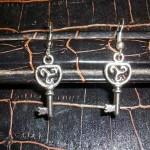 boucles en forme de clés