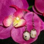 perles roses pâles
